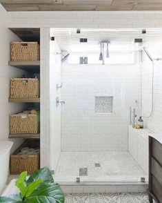 Beautiful bathroom shower tile decor ideas (59)