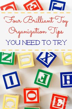 Four Brilliant Toy Organization Tips You Need To Try