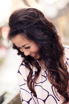 Pretty Hairstyle for Long Hair