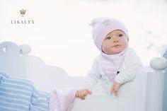 Baby Beanie, Bib, Blanket from LIKALYX