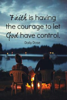 Faith. Decision will be made about me on the 21st this month. The rest is out of my hands now and in God's