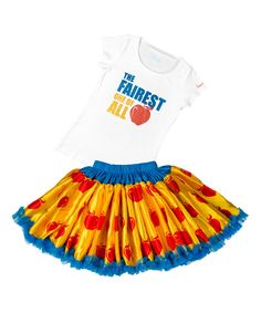 Another great find on #zulily! Yellow Snow White Disney Tee & Tutu by  #zulilyfinds