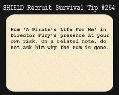 SHIELD Recruit Tip #264