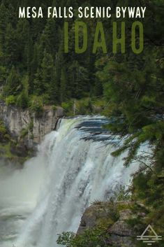 Mesa Falls Scenic Byway is a beautiful drive in Idaho! Sky Resort, Vacation Trips, Vacations, Vacation Spots, Colorado Hiking, So Little Time, Travel Usa, Places To See, Idaho Falls