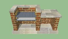 This diy step by step article is about how to build a barbeque pit. Building a brick bbq pit is easy if you use the right designs, plans, ideas and techniques. Parrilla Exterior, Brick Grill, Brick Built Bbq, Gazebos, Barbecue Pit, Built In Grill, Outdoor Kitchen Design, Outdoor Kitchens, Design Kitchen