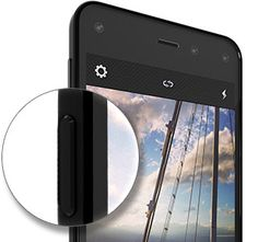 Amazon Fire Phone - 13MP Camera, 32GB - Shop Now No more fumbling to take a photo. With Fire phone's dedicated camera button, you can launch the camera in just about a second—even when the screen is off.