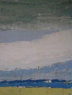 Nicolas de Stael, Sky in Honfleur, 1952