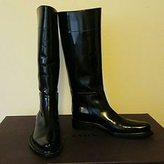 New Prada Riding  Boots New Prada Riding  Boots Prada Shoes Flats & Loafers