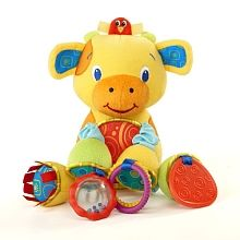 Bright Starts - Bunch-o-Fun - Yellow Cow