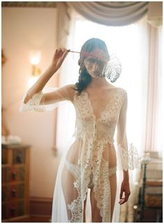 Bridal lingerie collections From Claire Pettibone's Heirloom collection