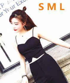 S~L Zipper Black Short bralette bralet tank top women camiso crop tops women corset bralette tops bustier crop top   612