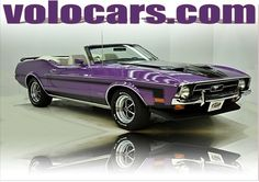 1972 Ford Mustang, one of one in its original purple Purple, for sale in United States,