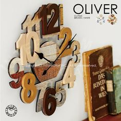 OLIVER[オリヴァ]■壁掛け時計