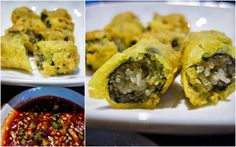 Deep-fried seaweed rolls stuffed with glass noodles at Out Of Seoul, Sri Damansara.