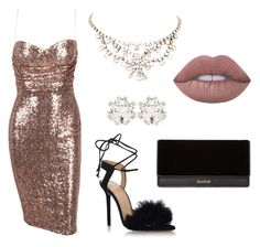 """Perfect outfit for New Years Party!"" by karppila-julia on Polyvore featuring Charlotte Olympia, Balmain and Dolce&Gabbana"