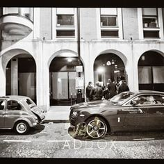 You never know who's going to pull up outside #MaddoxClub..... #Rockstars #Superstars #Models #DOYOUMADDOX ?