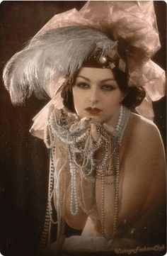 "I love most things vintage... But the ""hey baby, I have a ton of pearls and a HUGE hat"" look wouldn't be likely to work for most of us!"