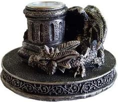 Dragon Cone Incense Burner- Candle Holder