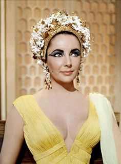 "ciao-belle: ""Elizabeth Taylor in Cleopatra, 1963 """