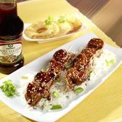 Blancs de poulet laqués aux épices - une recette Asiatique - Cuisine