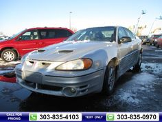 2002 Pontiac Grand Am GT Silver $2,900 0 miles 303-835-4103 Transmission: Automatic  #Pontiac #Grand Am #used #cars #PacificAutoAuction #CommerceCity #CO #tapcars