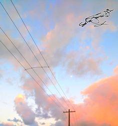 Pink clouds © Photo by Sasha James Dion #pinkcloud