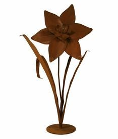 Patina Products - Daffodil, Large - Garden Statues and Yard Art Daffodil Flower, Iris Flowers, Spring Flowers, Outdoor Statues, Garden Statues, Garden Sculpture, Yard Sculptures, Rustic Outdoor, Outdoor Decor