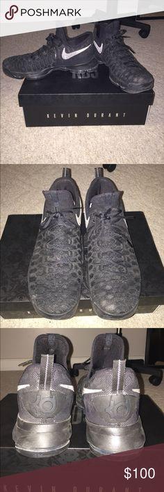 b7fa07af76ff NIKE ZOOM KD 9 Kevin Durant basketball shoes Black Anthracite Width  D -  Medium