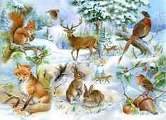 Diamond embroidery winter scenery Rhinestone painting Home Decor DIY Diamond painting fox cross stitch patterns diamond art Forest Animals, Woodland Animals, 5d Diamond Painting, Diamond Art, Drawing Skills, Wildlife Art, Easy Paintings, Forest Friends, Art Forms