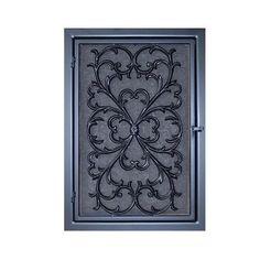 Curb Alert!: Repurposed Door Mat to Cover an Ugly Return Air Vent
