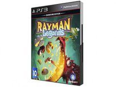 Rayman Legends: Signature Edition para PS3 - Ubisoft com as melhores condições você encontra no Magazine Rioleal. Confira!