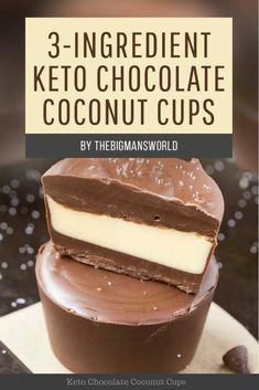 Save these 9 Easy Keto Dessert Recipes – keep your Ketogenic Diet guilt-free and indulge your sweet tooth self! These healthy Keto Desserts are quick to cook, some are no-bake, but all are low carb… Keto Desserts, Keto Snacks, Easy Desserts, Dessert Recipes, Cookbook Recipes, Cupcake Recipes, Healthy Snacks, Dessert Simple, Keto Dessert Easy