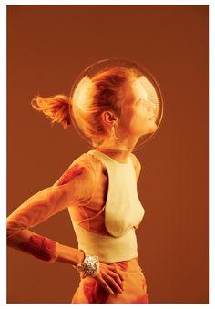 Oyster, nº101  ph. Will Davidson  model: Hanne Gaby Odiele  stylist: Stevie Dance
