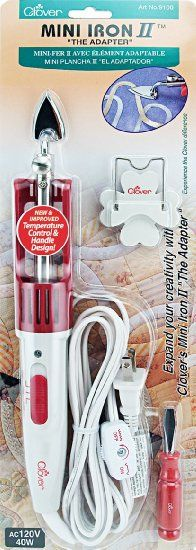 Received as Christmas present :)  Amazon.com: Clover Mini Iron II -The Adapter: Arts, Crafts & Sewing