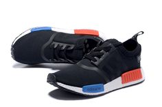 on sale a43ba 4b193 Cheap Priced Adidas original NMD Runner 2018 Black Red Blue White On Line