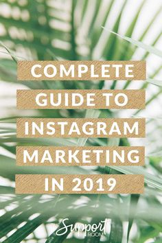 Complete Guide To Instagram Marketing 2019 #instagrammarketing #instagramtips #instagramforbusiness #socialmediamarketing #socialmediatips