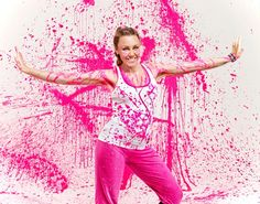 Happiness is... joining a Zumbathon to raise money for the breast cancer cause this October.