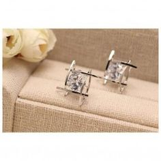 Cheap stud earrings, Buy Quality stud earrings for women directly from China square stud earrings Suppliers: Elegant and Charming Black Rhinestone Full Crystals Square Stud Earrings for Women Girls Statement Piercing Jewelry Metal Jewelry, Jewelry Sets, Women Jewelry, Jewlery, Black Rhinestone, Crystal Rhinestone, Crystal Earrings, Women's Earrings, Marimo