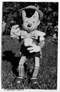 stuff from the park: Pinocchio Maquette 1939 and a Fun Photo