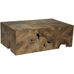 Root Teak Wood Coffee Table - Overstock™ Shopping - Great Deals on Coffee, Sofa & End Tables