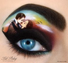 gone with the wind in eye makeup