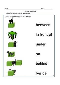 Worksheet Preposition Next To Kindergarten Worksheet worksheets for kids free printables prepositions pinterest grade 1 and 2 teacherlingo