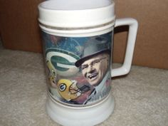 Vince Lombardi- Green Bay Packers Beer Stein