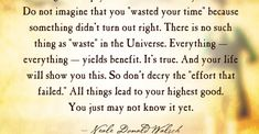 All things lead to your highest good by Neale Donald Walsch