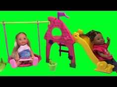Evi Love Playground Playing Fun Toy Review Unboxing - YouTube