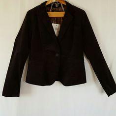 Calvin Klein Black Corduroy Jacket Sain lining. Two pockets one button. Two buttons on each sleeve Calvin Klein Jackets & Coats Blazers