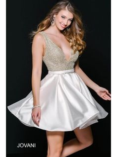 Jovani 42740 | Find this 2016 homecoming dress at www.henris.com