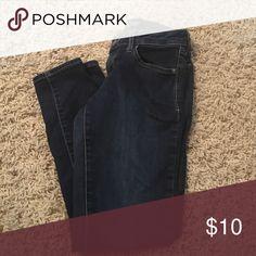 Dark wash skinny jeans Rockstar skinny old navy jeans. Old Navy Jeans Skinny