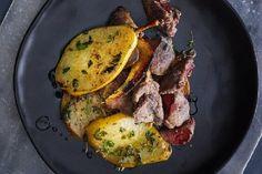 Perliczka na imieninowy obiad i przepis na wątróbkę z gruszkami!