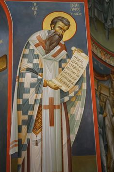 Church Interior, Byzantine Icons, Knights Templar, Orthodox Icons, Saints, Projects To Try, Angel, Sacred Art, Knights Of Templar
